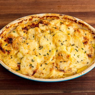 Картофельно-сырный гратен - рецепт с фото