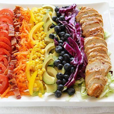 Овощной салат «Верона» с куриной грудкой - рецепт с фото