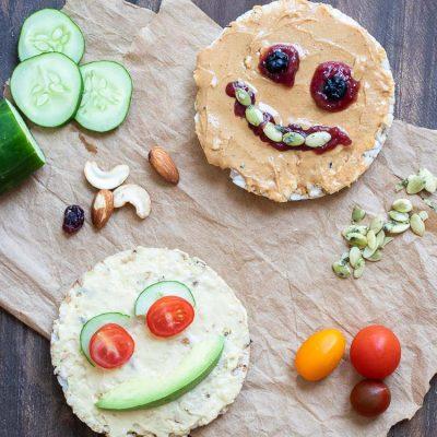 Завтрак из хлебцов для детей - рецепт с фото