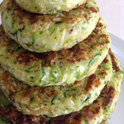 Овощные котлеты из картофеля и цуккини - рецепт с фото