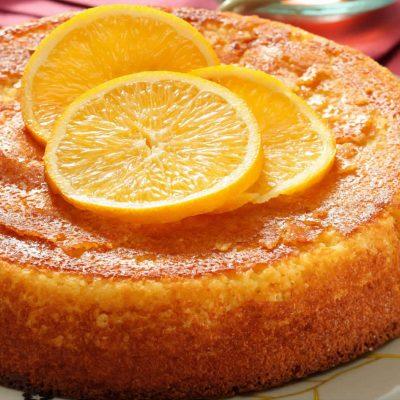 Пирог с апельсинами - рецепт с фото