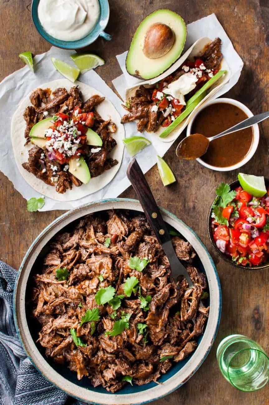 Телятину по-мексикански, жареная