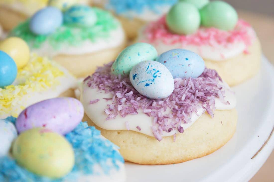пасхальное печенье рецепты с фото часть волоса белая