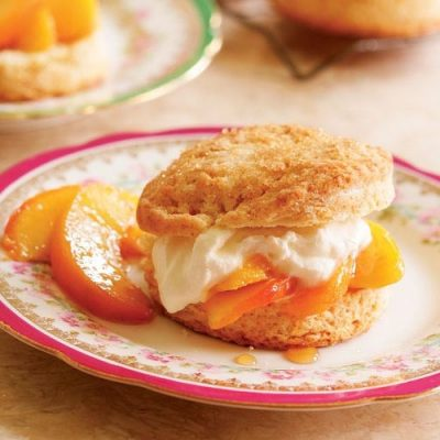 Персиковый сладкий бургер - рецепт с фото
