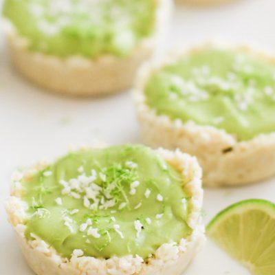 Тарталетки без запекания с муссом из авокадо - рецепт с фото