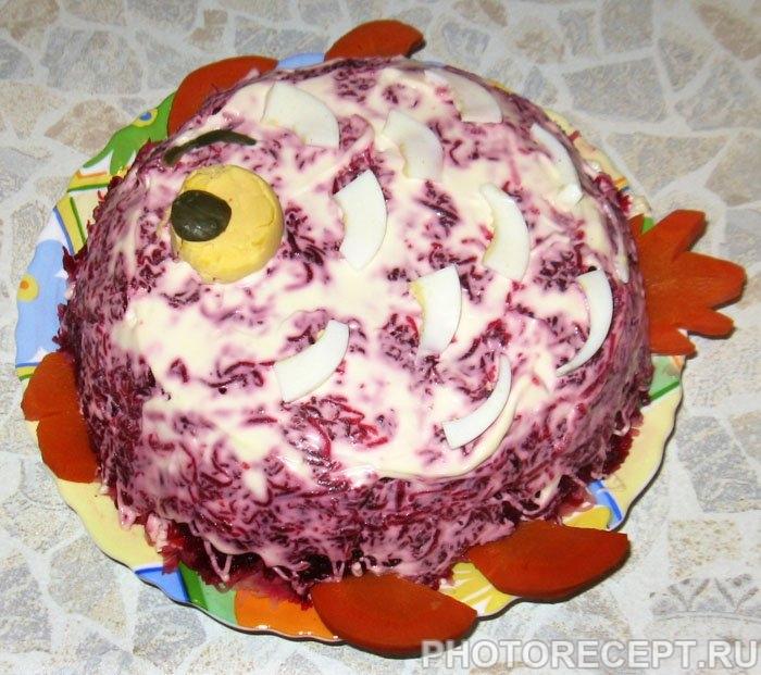 Селедка под шубой – классический салат - рецепт с фото