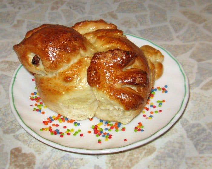Булочки «Жаворонки» на 22 марта - рецепт с фото