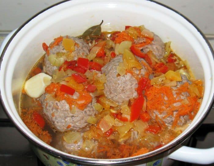 Фото рецепта - Мясные «Ёжики» с рисом - шаг 5