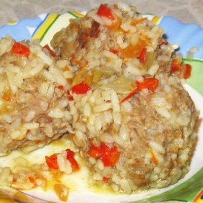 Мясные «Ёжики» с рисом - рецепт с фото