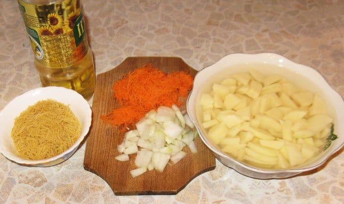 Фото рецепта - Куриный cуп лапша - шаг 2