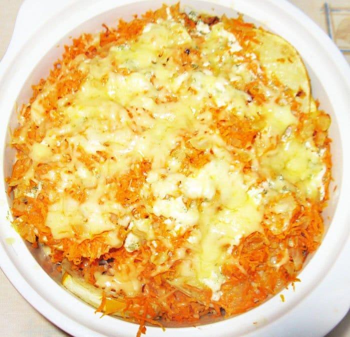 Фото рецепта - Кабачки запеченные в духовке - шаг 4