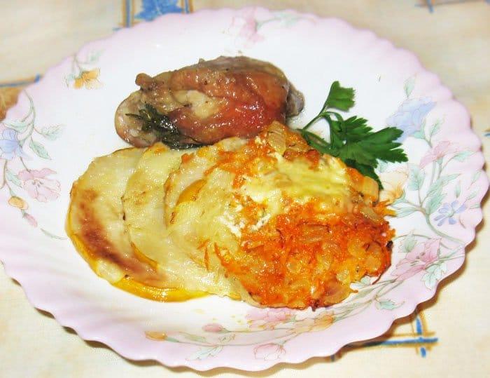 Кабачки запеченные в духовке - рецепт с фото