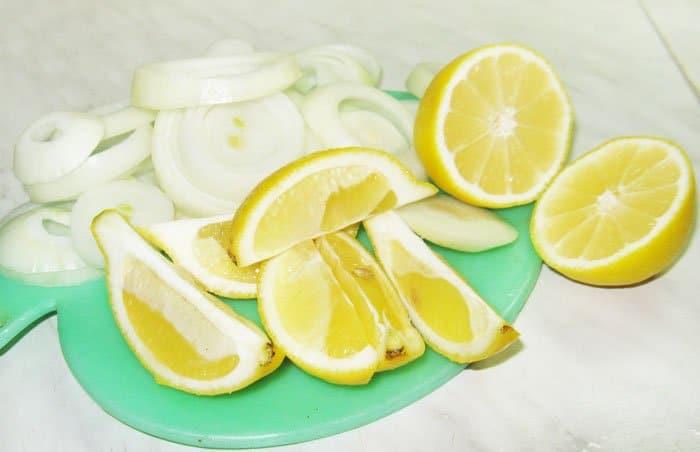 Фото рецепта - Шашлык из свинины с лимоном - шаг 2