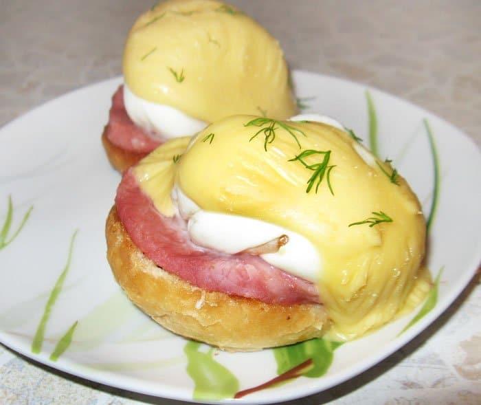 Яйца пашот по-английски - рецепт с фото