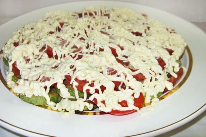Фото рецепта - Еврейский салат из кабачков - шаг 4