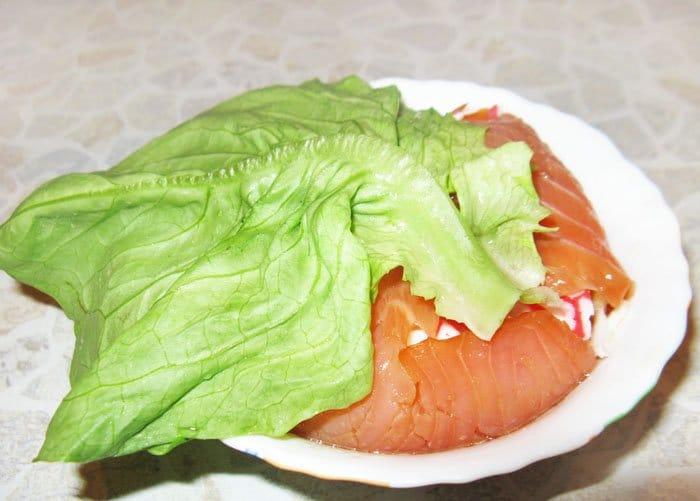Фото рецепта - Мешочки из семги «Морская владычица» - шаг 10