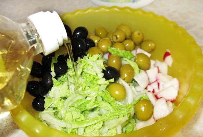 Фото рецепта - Карибский салат с редисом - шаг 2