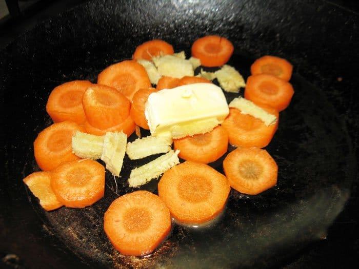 Фото рецепта - Рыба Кижуч под морковно-имбирным соусом - шаг 1
