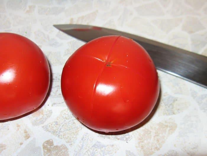 Фото рецепта - Вяленые помидоры - шаг 1