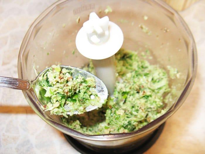 Фото рецепта - Брускеты с зеленью - шаг 3