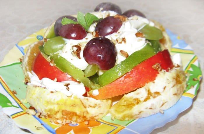 Фруктовый салат Микс - рецепт с фото