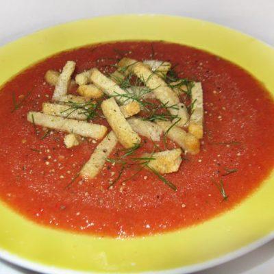 Гаспачо - рецепт с фото