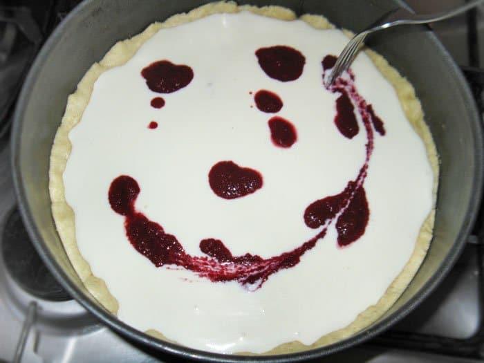 Фото рецепта - Запеканка на песочном пироге - шаг 6