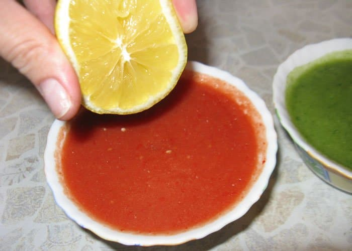 Фото рецепта - Двухцветный гаспачо - шаг 3