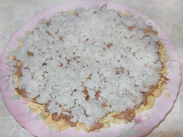 Фото рецепта - Рыбный салат «Бангладеш» - шаг 4