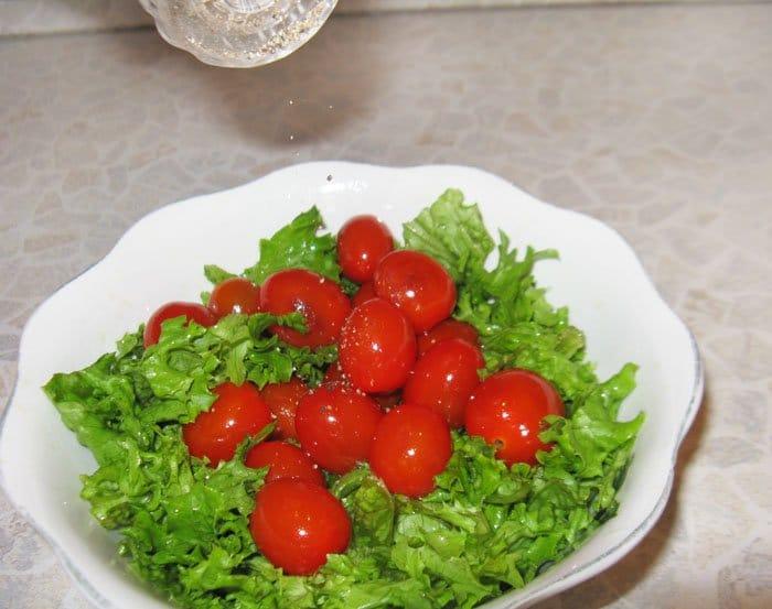 Фото рецепта - Салат по-французски - шаг 4