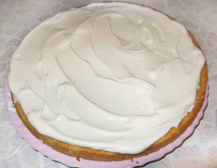 Фото рецепта - Торт с клубникой - шаг 2