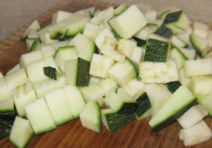 Фото рецепта - Запеканка из кабачков - шаг 1