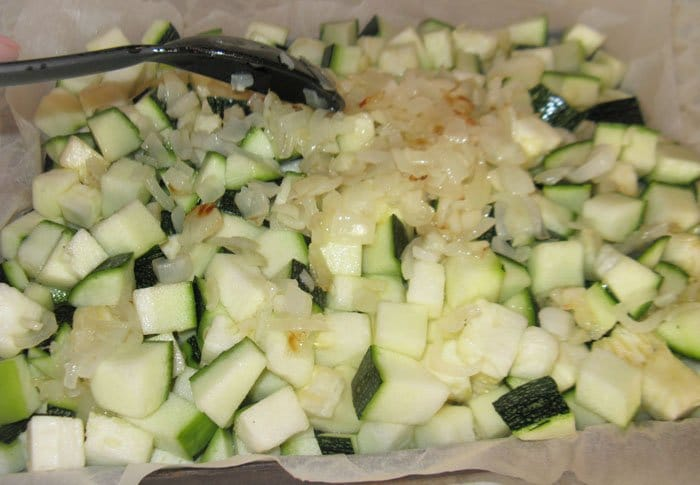Фото рецепта - Запеканка из кабачков - шаг 4