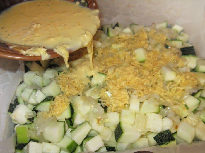 Фото рецепта - Запеканка из кабачков - шаг 7