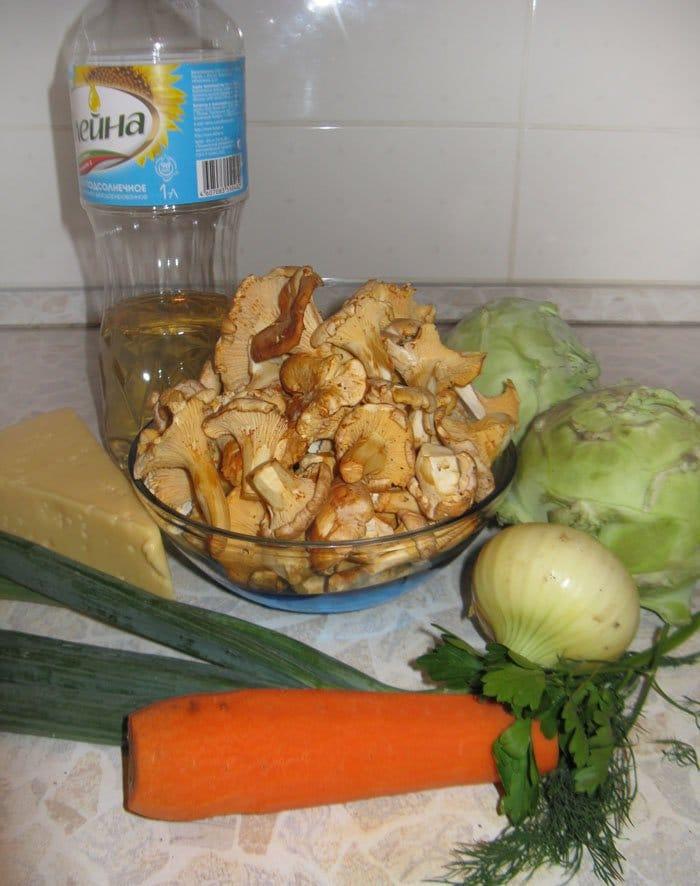 Фото рецепта - Фаршированная капуста кольраби - шаг 1