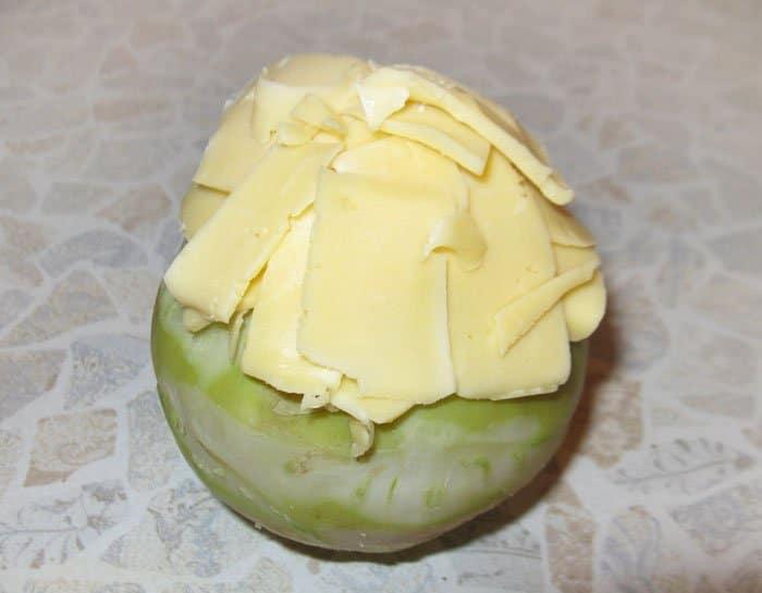 Фото рецепта - Фаршированная капуста кольраби - шаг 6