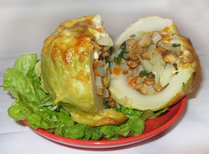 Фото рецепта - Фаршированная капуста кольраби - шаг 8