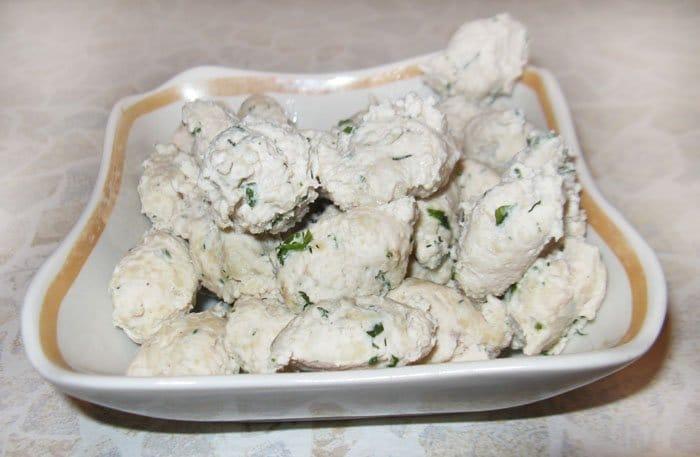 Фото рецепта - Куриные клецки (как приготовить) - шаг 3