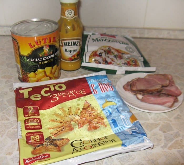 Фото рецепта - Гавайская пицца - шаг 1