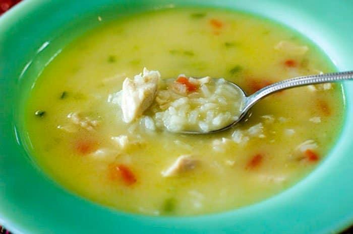 Фото рецепта - Куриный суп с рисом - шаг 8