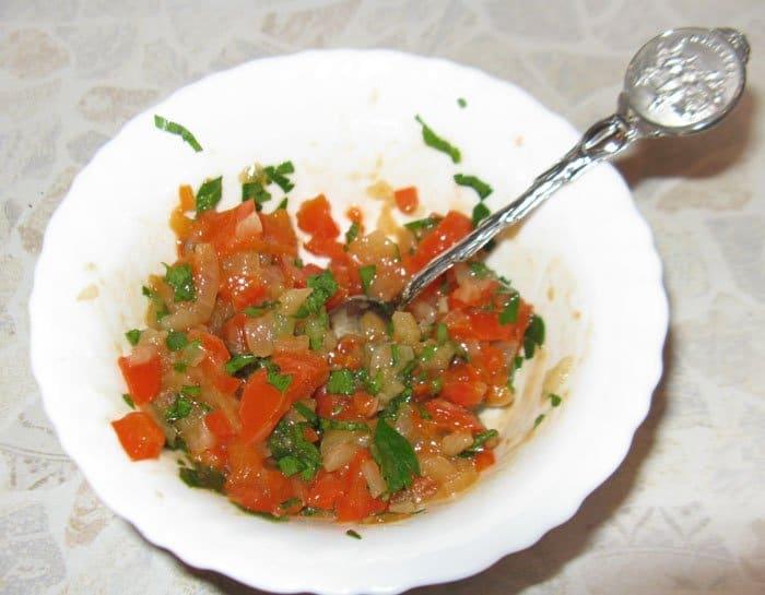 Фото рецепта - Пинчос с сардинами (бутерброды) - шаг 4