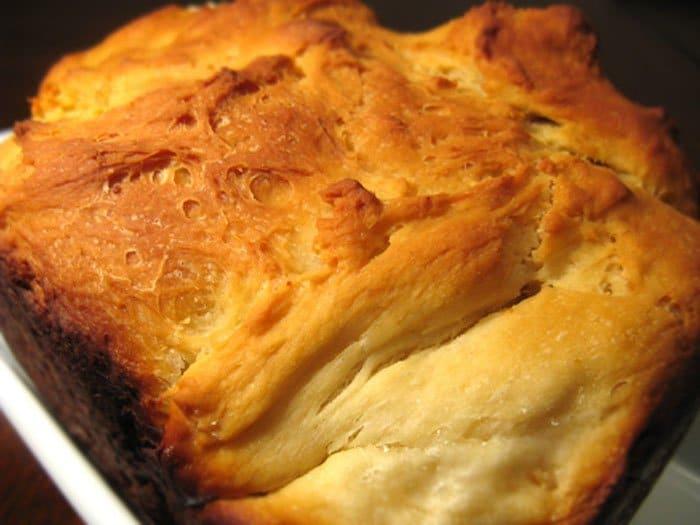 Фото рецепта - Сырный белый хлеб в хлебопечке - шаг 1