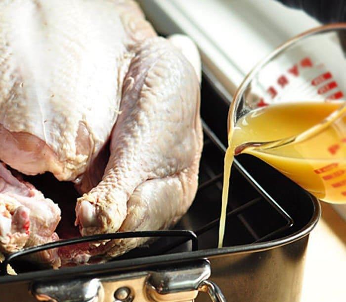 Фото рецепта - Индейка (утка), запеченная в духовке - шаг 2