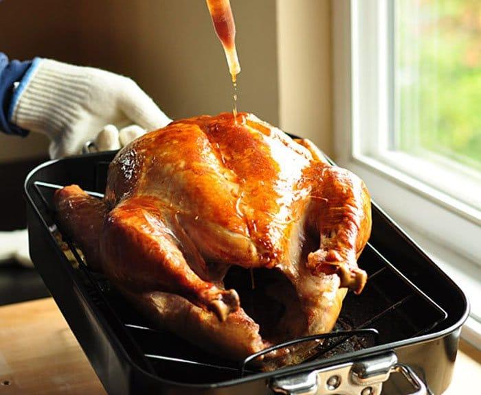 Фото рецепта - Индейка (утка), запеченная в духовке - шаг 4
