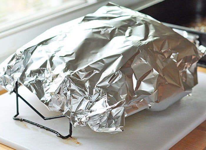 Фото рецепта - Индейка (утка), запеченная в духовке - шаг 7