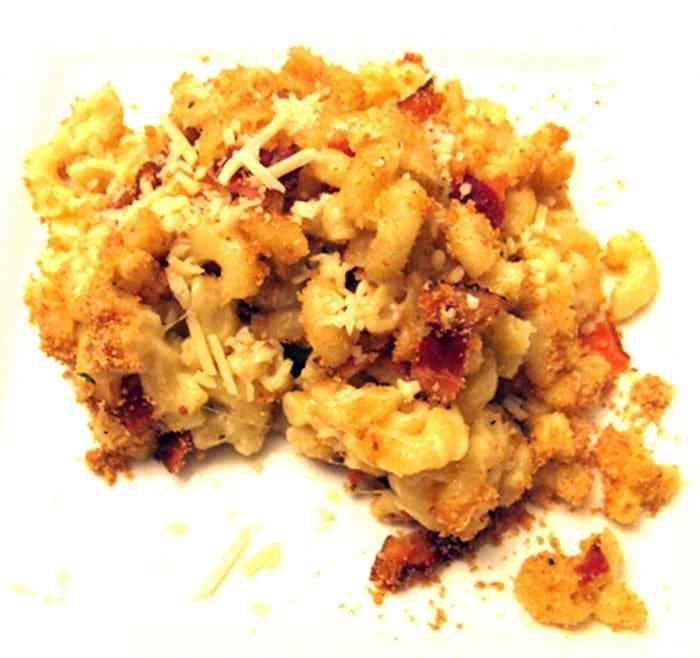 Макароны в сырном соусе - рецепт с фото