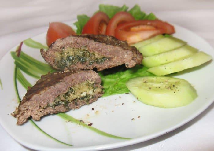 Мясо по-чешски с сыром