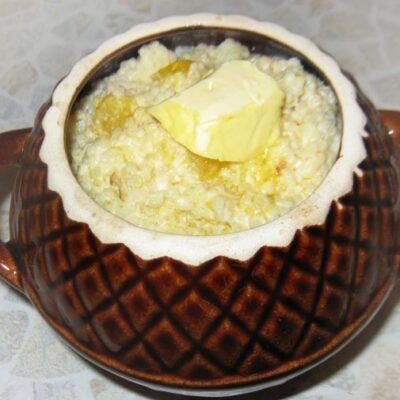 Пшенная каша с тыквой, запеченная в горшке - рецепт с фото