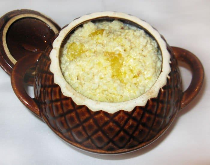 Пшенная каша с тыквой в горшочке, пошаговый рецепт с фото