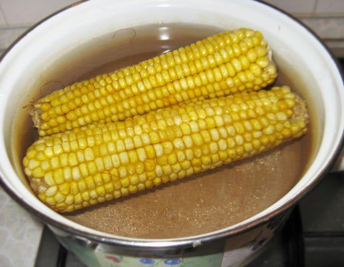 Фото рецепта - Вареная кукуруза - шаг 1